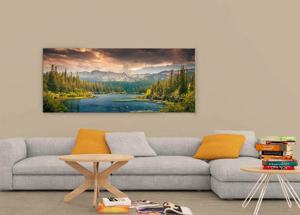 Ultra Wide Wall Art Mockup