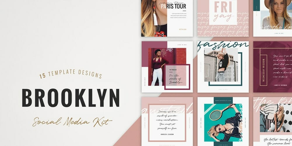 Brooklyn Instagram Templates