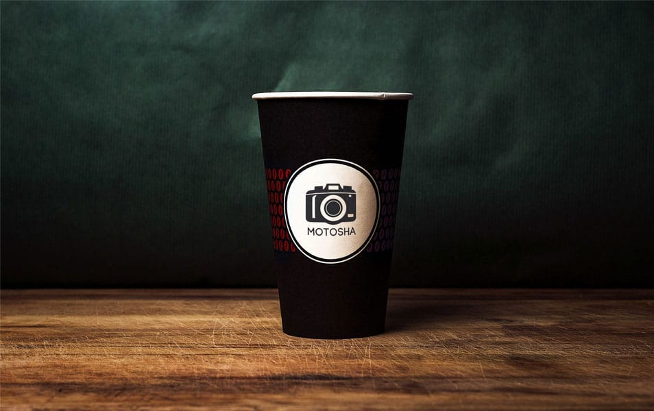 Coffee to go Mug Mockup
