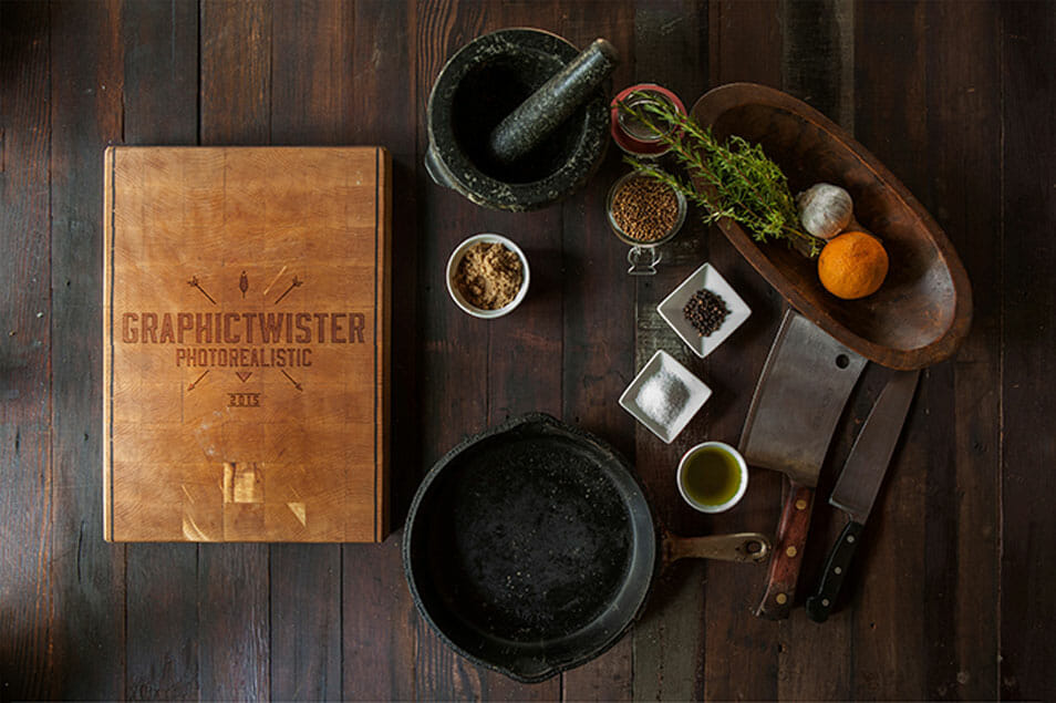 Cutting Board Mockup