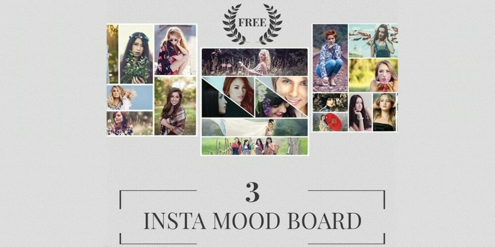 Free Instagram Mood Board Templates