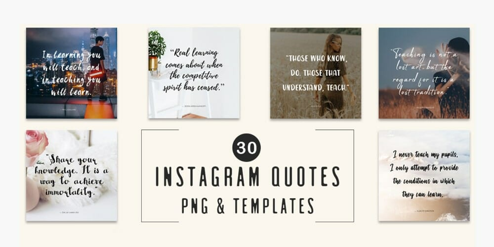 Free Instagram Quotes Templates