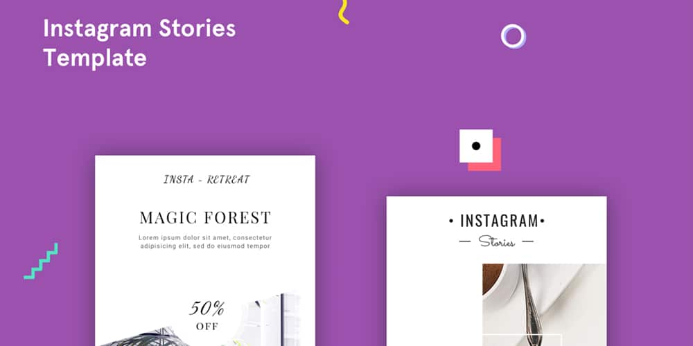 Free Instagram Stories PSD