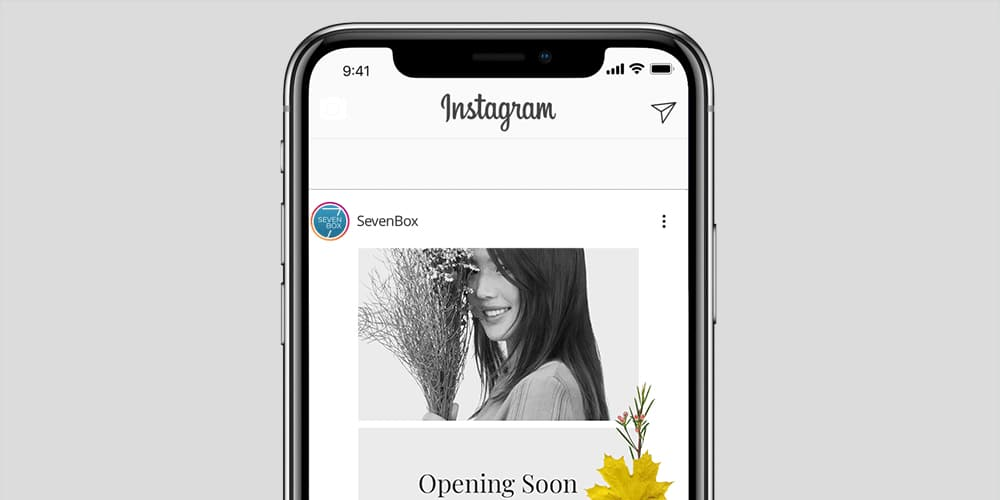 Free Instagram Stories Template PSD