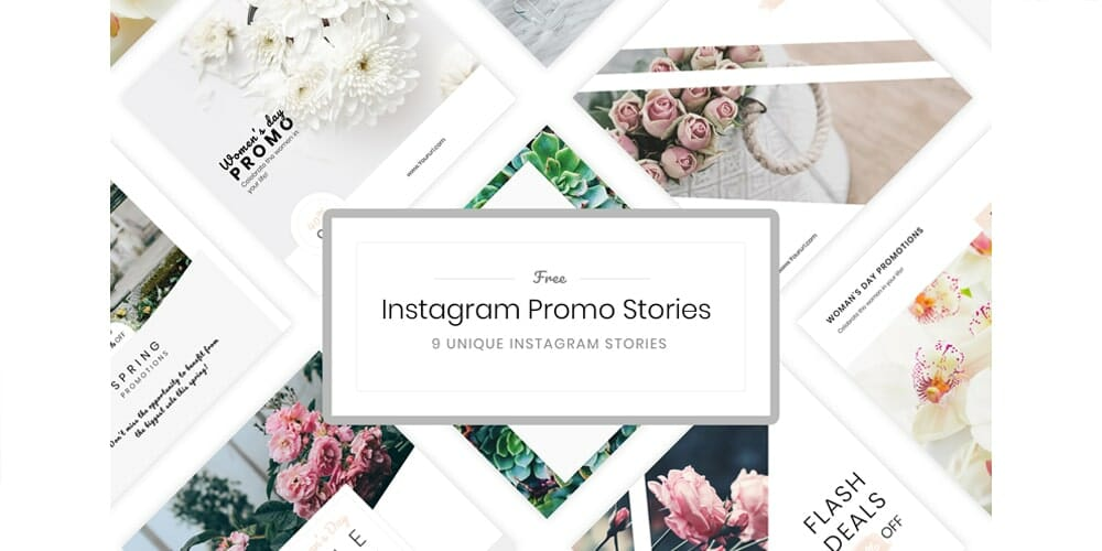 Free Instagram Stories Templates PSD