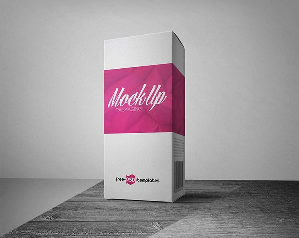 Free Packaging Mock-up in PSD