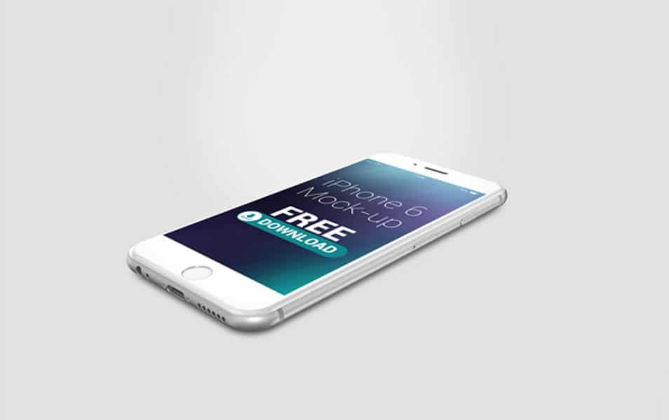 Free iPhone 6 Mock-Up
