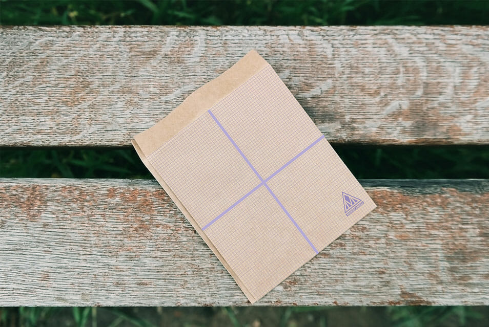 High Quality Paper Envelope PSD Mockup