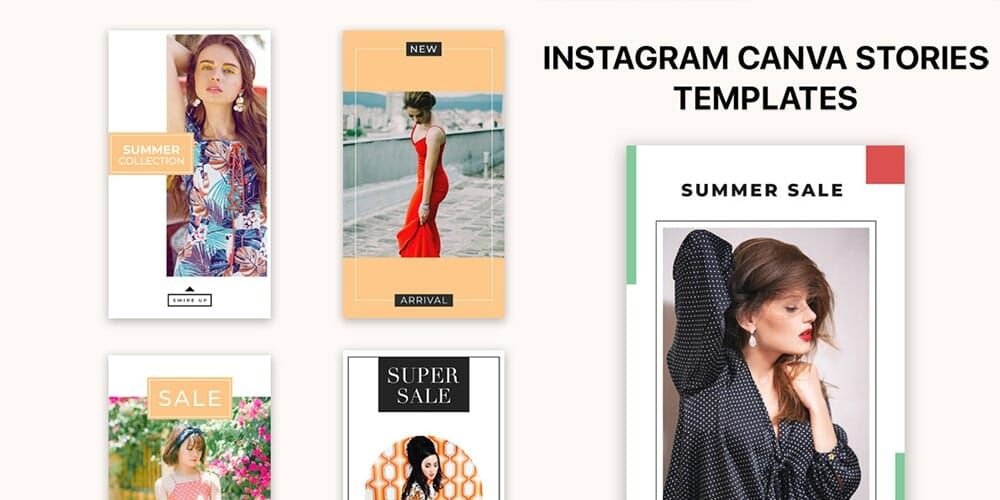 Instagram Canva Stories Templates