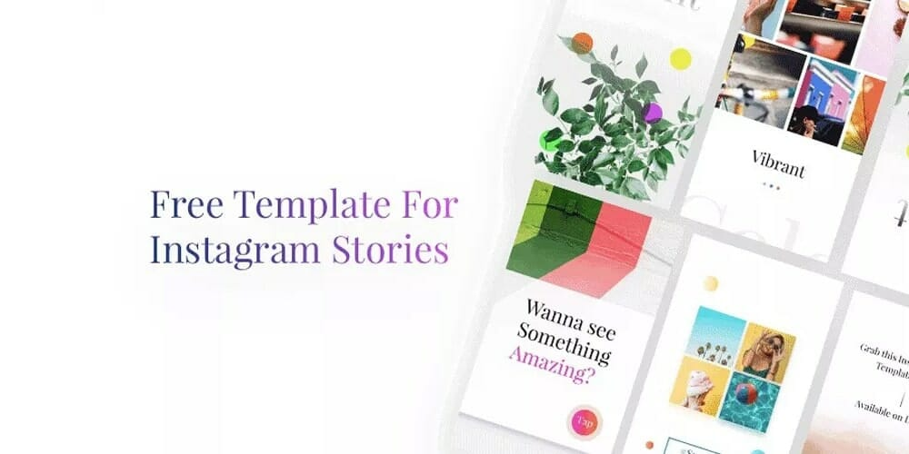 Instagram Stories Templates PSD