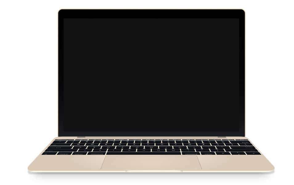 New MacBook Air Mockup