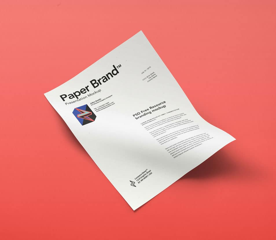PSD Paper Mock-Up