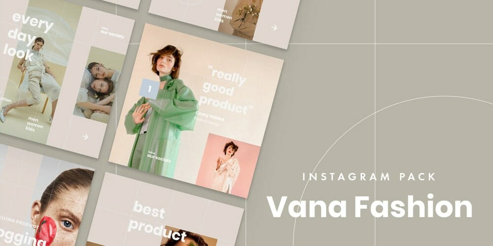 Vana Fashion Instagram Templates
