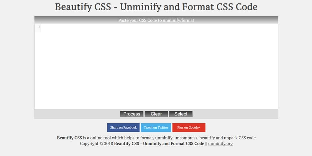 Beautify CSS