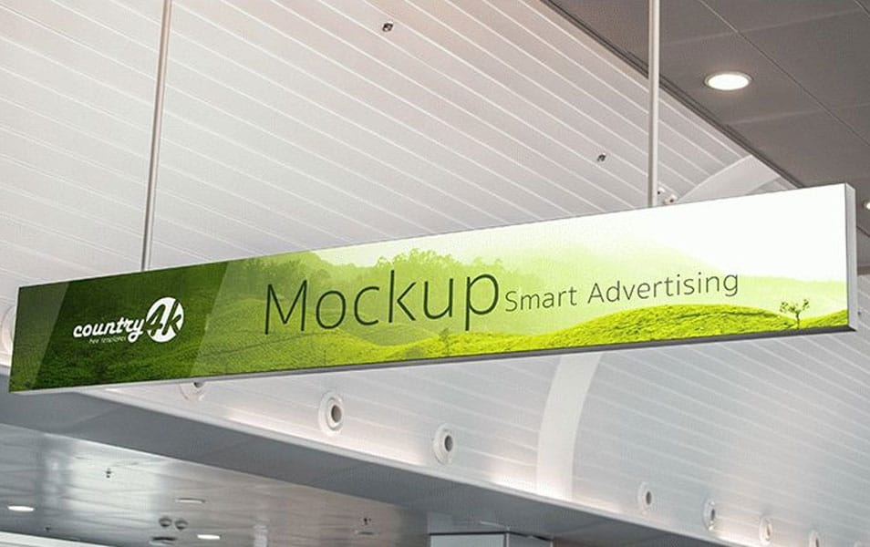 Free MockUp for Smart Advertising