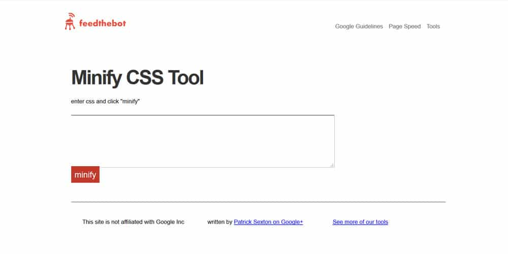 20 most amazing css minifier tools css author