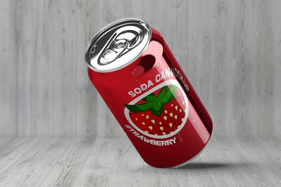 Soda Can Mock-Up