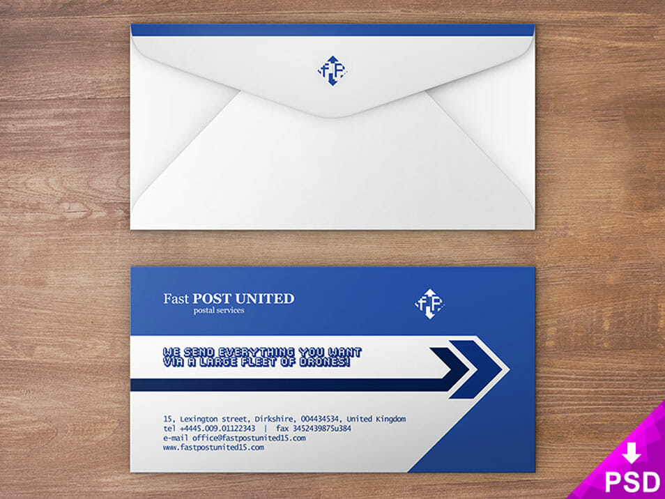 Envelope Design Mock-up