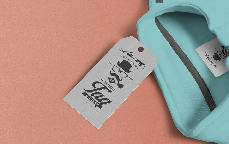 Free Amazing Price Tag Mockup