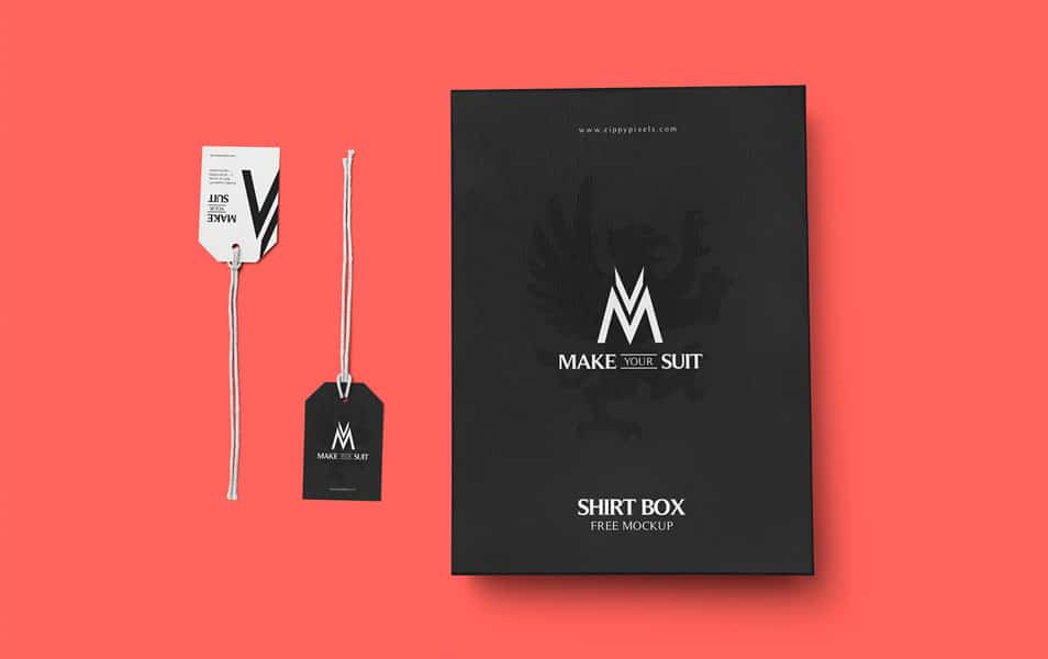 Free Customizable Product Packaging Mockup