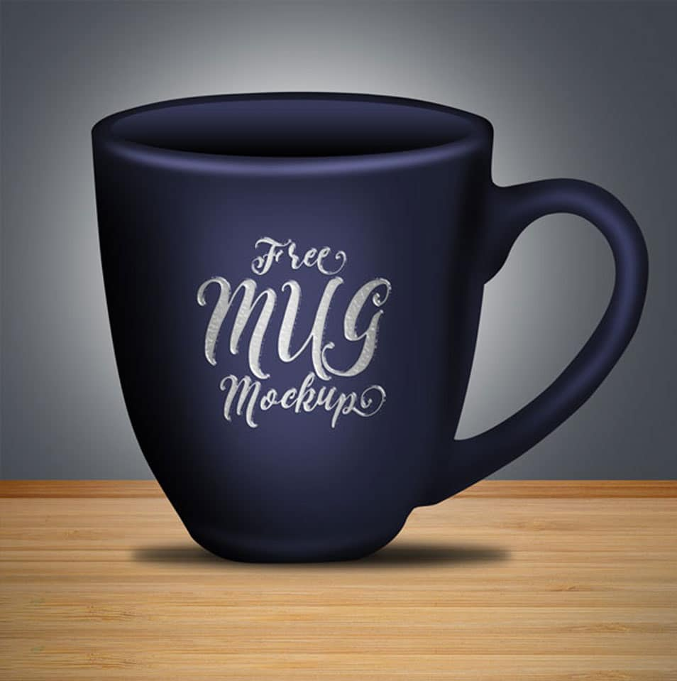 Free Coffee Mug Mock-up PSD