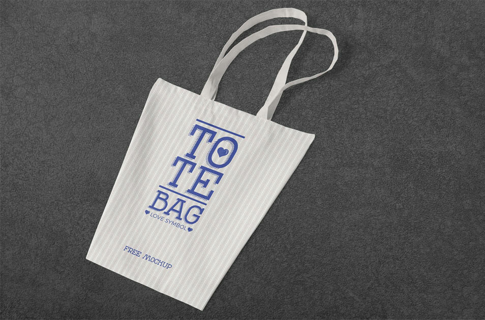 Free Professional Cotton Bag Mockup