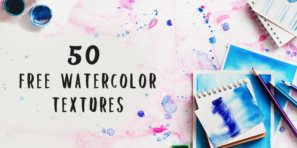Free Vibrant Watercolor Textures