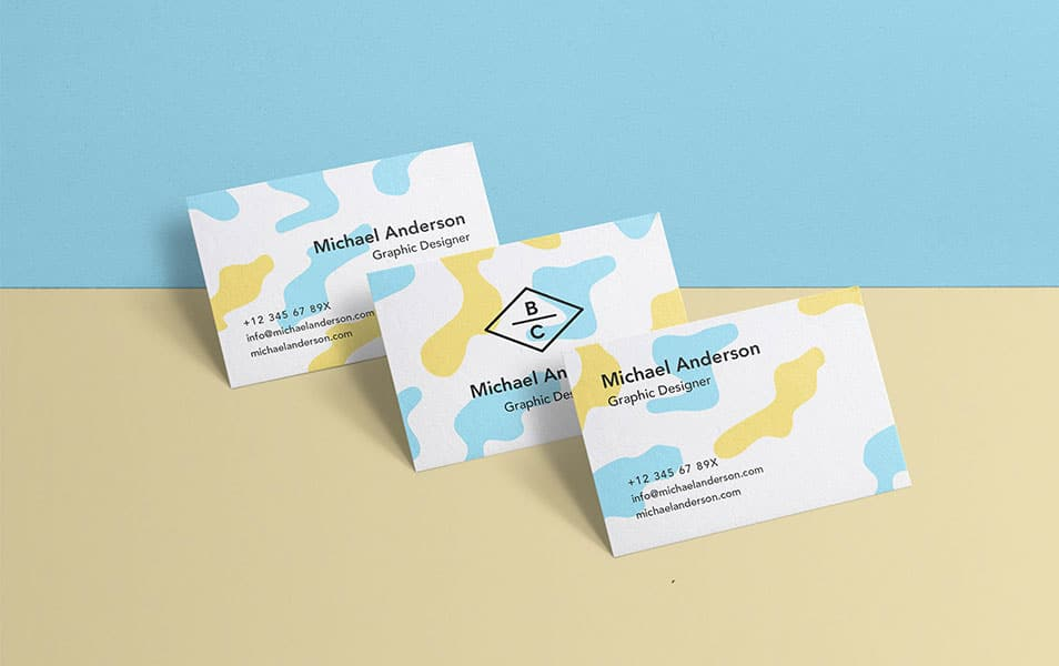 PSD Business Card Mock-Up