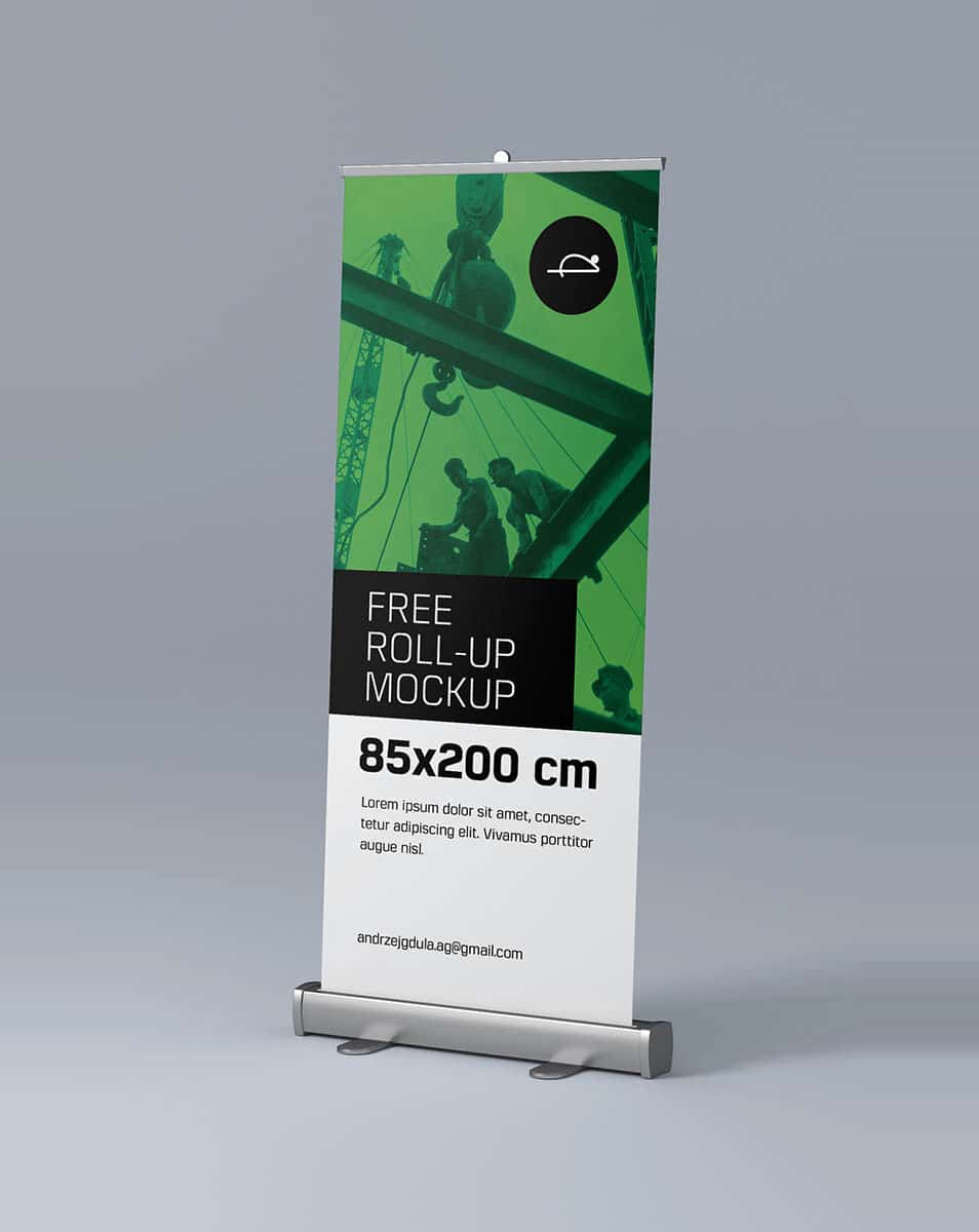Roll-up Mockup Template
