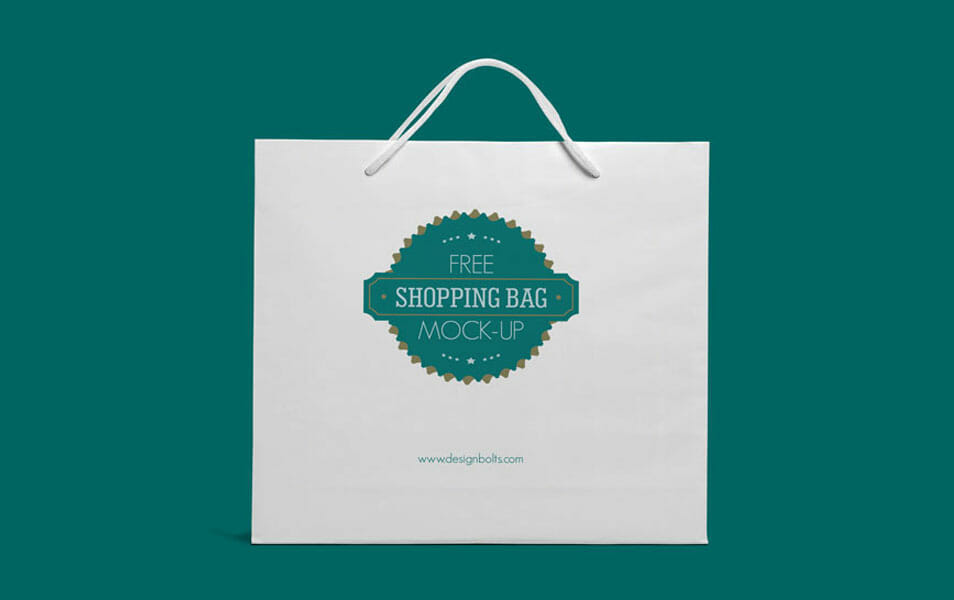 free eco friendly white shopping bag mock up psd css author