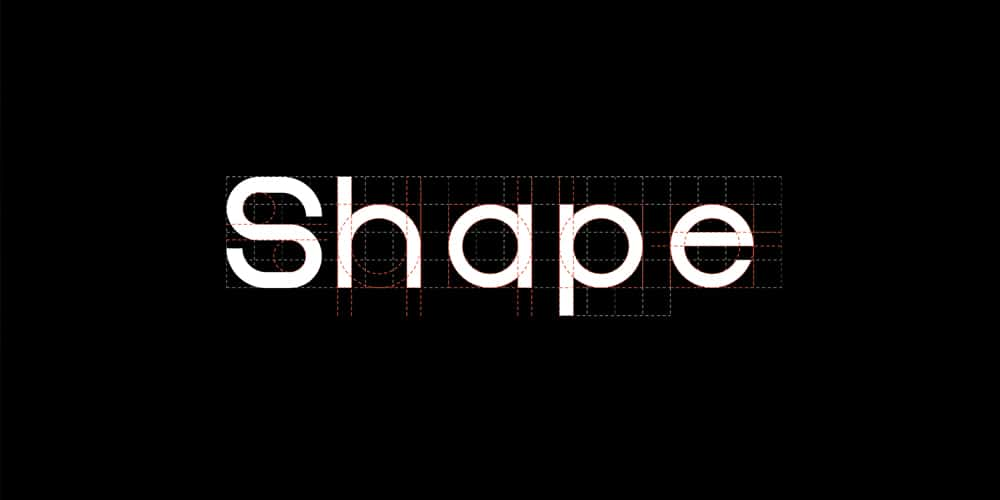 Shapes Typeface