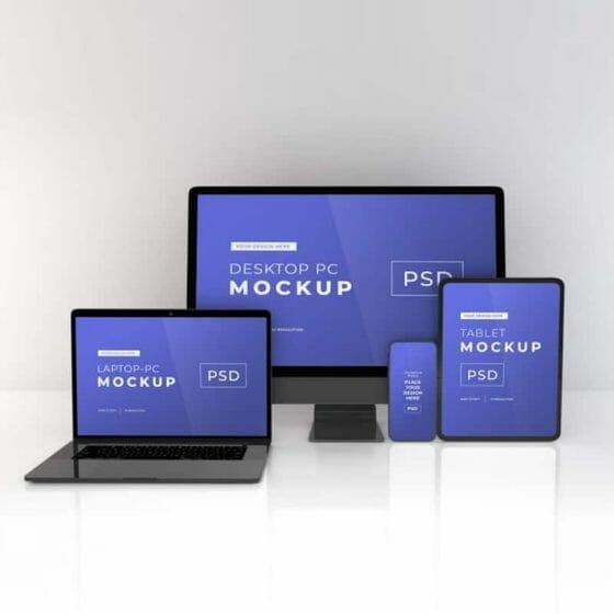 Responsive Devices Mockup